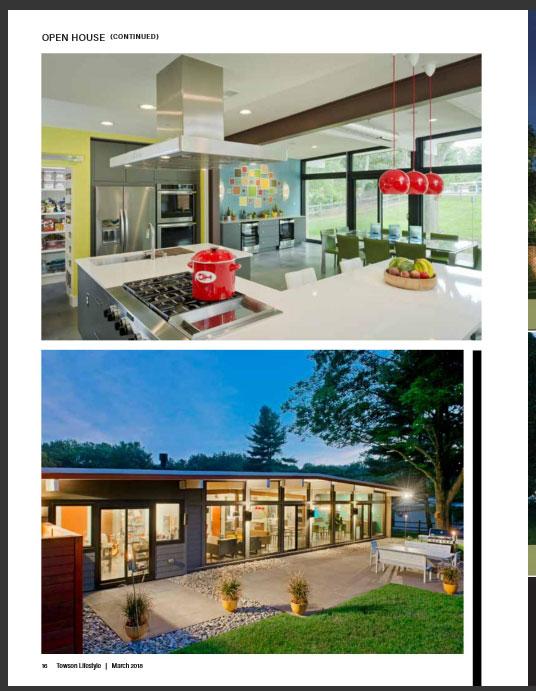 Towson Lifestyle Magazine features 2e Architects